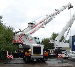 30 T City Crane (Terex AC30)
