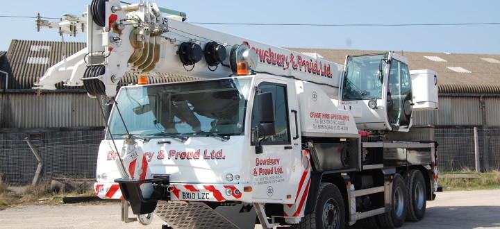 45 Truck Crane ( Terex TC40L )