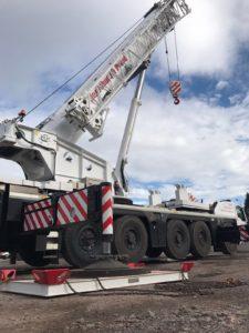 220 Tonne Capacity Crane - Terex Explorer 5800