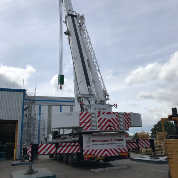 Terex 5800 Explorer - 220T Crane Fully Ballasted in Coventry
